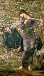 La séduction de Merlin (Edward Burne-Jones) - Muzeo.com