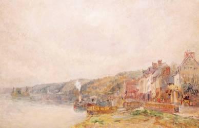 La Seine au Croisset (Albert Lebourg) - Muzeo.com