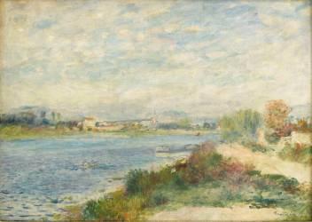 La Seine à Argenteuil (Auguste Renoir) - Muzeo.com