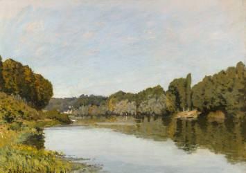 La Seine à Bougival (Alfred Sisley) - Muzeo.com