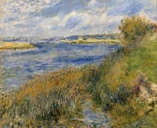La Seine à Champrosay (Renoir Auguste) - Muzeo.com