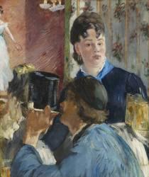 La serveuse de bocks (Edouard Manet) - Muzeo.com