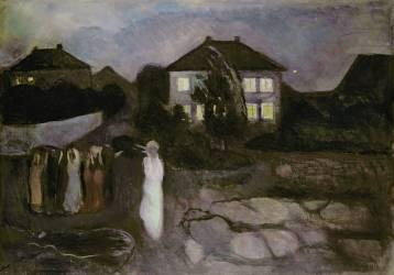 La tempête (Edvard Munch) - Muzeo.com