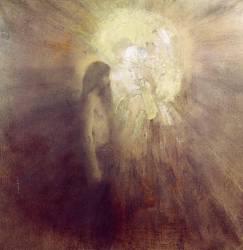 La Tentation de Saint Antoine (Fernand Khnopff) - Muzeo.com