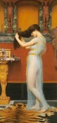 La Toilette (John William Godward) - Muzeo.com