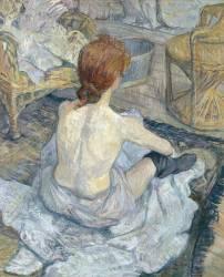 La toilette (Henri de Toulouse-Lautrec) - Muzeo.com