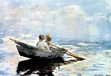 La Traînière (Winslow Homer) - Muzeo.com