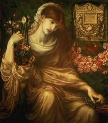 La veuve romaine (Dante Gabriel Rossetti) - Muzeo.com