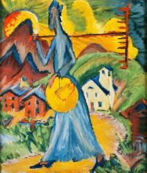 La Vie Alpine (Ernst Ludwig Kirchner) - Muzeo.com