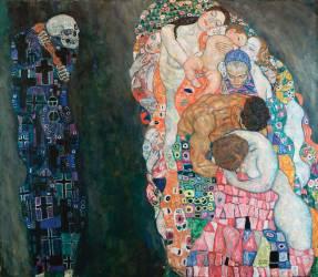 La Vie Et La Mort (Klimt Gustav) - Muzeo.com