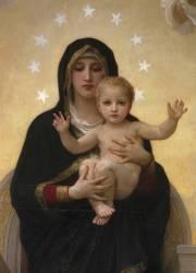 La Vierge aux anges (Bouguereau William Adolphe) - Muzeo.com