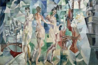 La ville de Paris (Robert Delaunay) - Muzeo.com
