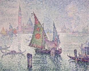 La voile verte, Venise (Paul Signac) - Muzeo.com