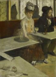 L'absinthe, dit aussi Dans un café (Edgar Degas) - Muzeo.com