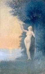L'Adieu au soleil (Alphonse Osbert) - Muzeo.com