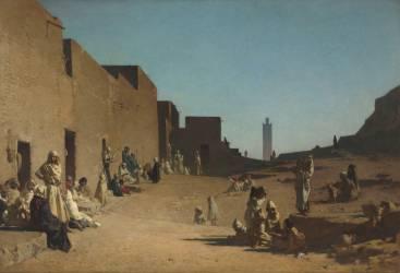 Laghouat, Sahara algérien (Guillaumet Gustave Achille) - Muzeo.com