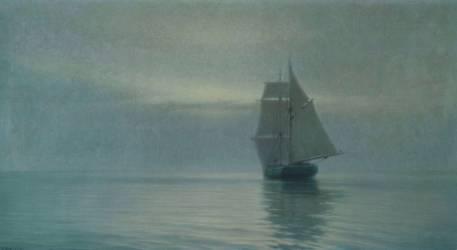 L'Alda dans une calme symphonie grise (Henry Brokman) - Muzeo.com