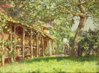 L'Apiculteur (Emile Claus) - Muzeo.com