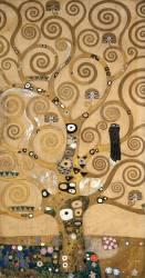 L'arbre de vie, fresque Stoclet, détail du côté gauche (Gustav Klimt) - Muzeo.com