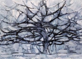 L'arbre gris (Piet Mondrian) - Muzeo.com