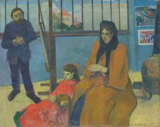 L'Atelier de Schuffenecker ou la famille Schuffenecker (Paul Gauguin) - Muzeo.com