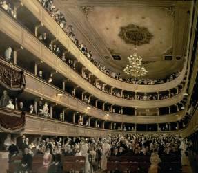 L'auditorium de l'Altes Burgtheater (Gustav Klimt) - Muzeo.com