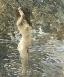 Le bain (Tito Ettore) - Muzeo.com