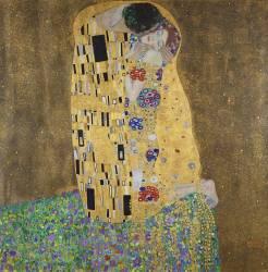 Le baiser (Klimt Gustav) - Muzeo.com