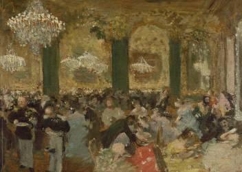 Le Bal (Edgar Degas) - Muzeo.com
