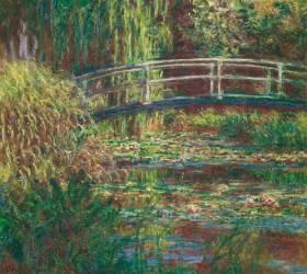 Le Bassin aux nymphéas : harmonie rose (Claude Monet) - Muzeo.com