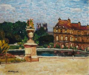 Le Bassin du Luxembourg (Albert Marquet) - Muzeo.com