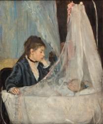 Le berceau (Morisot Berthe) - Muzeo.com