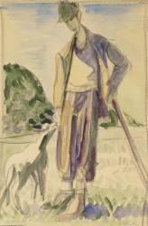 Le Berger (Ernst Ludwig Kirchner) - Muzeo.com