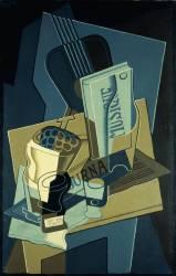 Le Cahier de Musique (Juan Gris) - Muzeo.com
