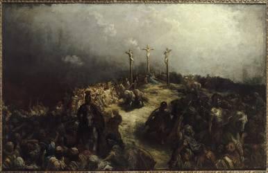 Le Calvaire (Doré Gustave) - Muzeo.com