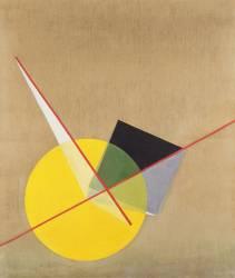 Le Cercle Jaune (Laszlo Moholy-Nagy) - Muzeo.com
