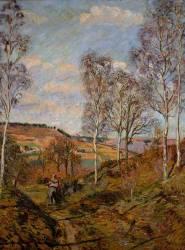 Le chemin vers la vallée (Guillaumin Armand) - Muzeo.com