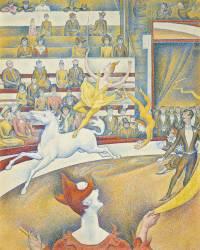 Le cirque (Georges Seurat) - Muzeo.com