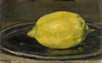 Le citron (Edouard Manet) - Muzeo.com