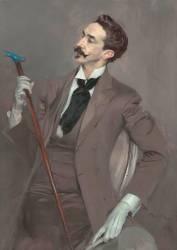 Le Comte Robert de Montesquiou (Giovanni Boldini) - Muzeo.com