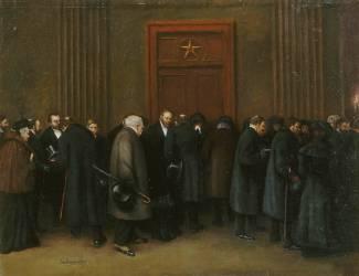 Le défilé (Jean Béraud) - Muzeo.com