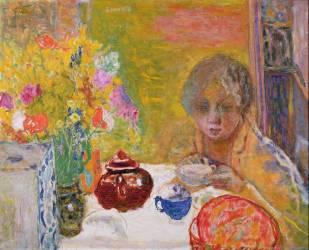 Le déjeuner (Pierre Bonnard) - Muzeo.com
