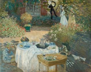 Le Déjeuner; panneau décoratif (Claude Monet) - Muzeo.com