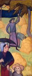 Le Gaulage des pommes (Bernard Emile) - Muzeo.com