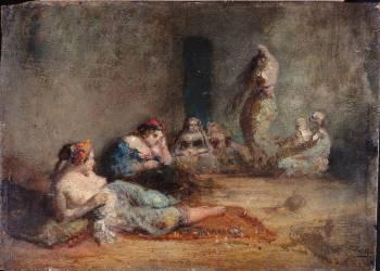 Le harem (Ziem Félix) - Muzeo.com