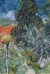 Le jardin du docteur Gachet à Auvers sur Oise (Van Gogh Vincent) - Muzeo.com