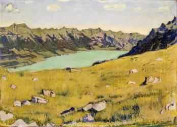Le Lac de Brienz depuis Breitlauenen (Ferdinand Hodler) - Muzeo.com