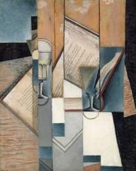 Le Livre (Juan Gris) - Muzeo.com