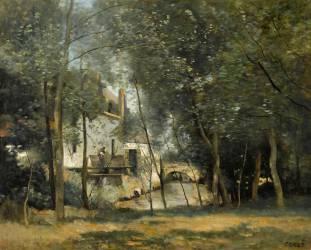 Le Moulin de Saint-Nicolas-lez-Arras (Jean-Baptiste Camille Corot) - Muzeo.com
