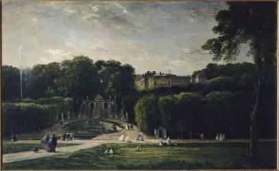 Le parc de Saint-Cloud (Charles-François Daubigny) - Muzeo.com